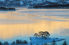 Evening light over Loch M...